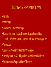 Chapter 9 - FAMILY LAW.ppt