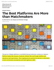 The Best Platforms Are More than Matchmakers.pdf
