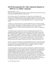 AICPA Comments to SEC Staff Paper-IFRS