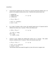 Chapter 1-4 Homework Questions and Answers