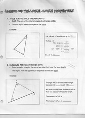 Lesson Two Triangle Angle Properties Lecture Note