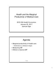 ECO 236 Health and MP of Medical Care Jan 25 2017.pdf