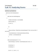 Lab3-2 Analyzing ScoresCKW