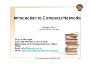 Computer-Network-Lecture-1-2005-2006