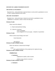 ClassicalSocialTheoryLecture4Notes
