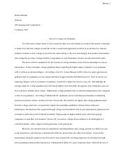 College Graded Essay.docx
