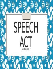 SPEECH ACT.pptx