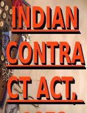 The Indian Contract Act of 1872.ppt