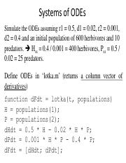 BIOE241_lecture_031017_MATLAB_Solving ODEs Numerically_continued.pdf