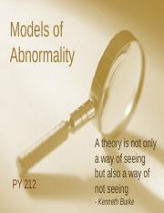 Chapter 3 - Models of Abnormality part 1-clean.pptx