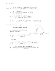 16_Ch 15 College Physics ProblemCH15 Electric Forces and Electric Fields