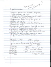 Spanish Reflexive Sentences Notes