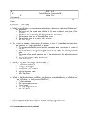 Sample Midterm II  Tax 1 without solutions(1).docx