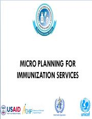 MICRO PLANNING FOR IMMUNIZATION SERVICES.pdf