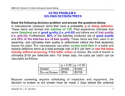 Extra Problem 6 - Solving Decision Trees - Solution Key