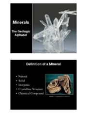 minerals use