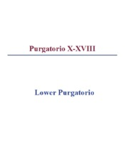 Lower Purgatorio