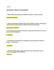 Homework_What Is Psychology.docx