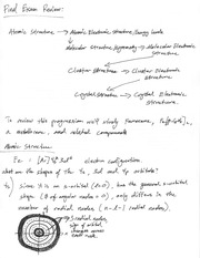 CHEM 104 Fall 2014 Final Exam Review Notes