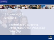 Chapter 8 (Segmentation and Targeting strategies)