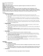 Study Guide for Frankenstein