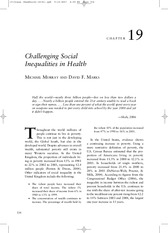 Challenging Social Inequalities Chapter_19