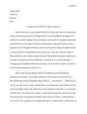 Example essay - Special Education.pdf