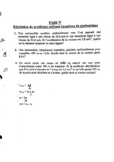 Kinematics Review Questions
