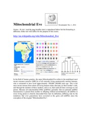 PDF #9d. Mitochondrial Eve