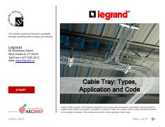 ELECT 120 - Cable Tray-Types, Application and Code.pdf