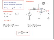Homework 8 Solutions - Operational Amplifier