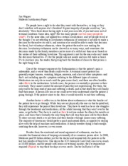 Peer Review - Midterm Position paper