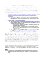 Annotated Bibliography How To (2)