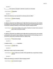Quiz 6.1 Q & A's for Study Guide Exam 2.docx