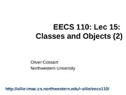 lec15 - classes and objects