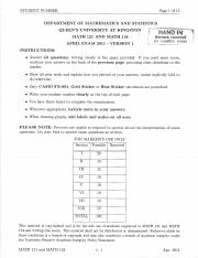 MATH121 Winter 2011 Exam
