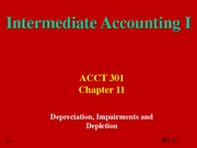 Chapter 11 slides Depreciations etc