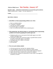 MGMT E-5050 Student Slides FIRST EXAMINATION  Winter 2014.doc