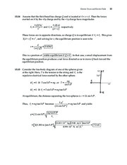 13_Chapter 15 HomeworkCH15 Electric Forces and Electric Fields