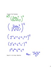 The  Properties of Exponential Functions
