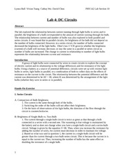 Lab 4 Circuits Report