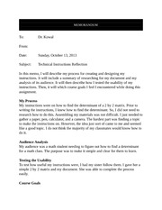 ENGL 219_Instructions_Reflective_Memo