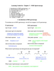 NMR Notes