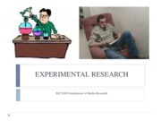 mc 3018 experiemtnal research