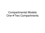 Two Compartment Models II