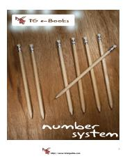 Complete Book of Number System (Total Gadha)