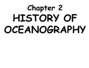 Chapter 2 History of oceanography