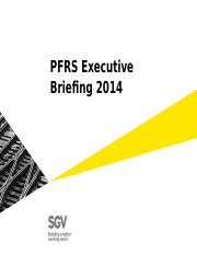 PFRS Executive Briefing 2014_APPENDIX