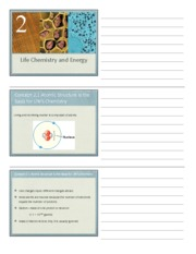 Lecture 02 BSC2010 chem & energy 1