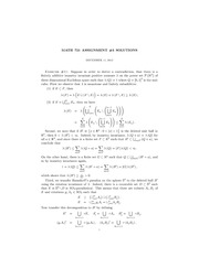 MATH 721 Fall 2012 Assignment 3 Solutions
